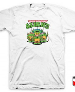 Teenage Mutant Ninja Aliens T Shirt