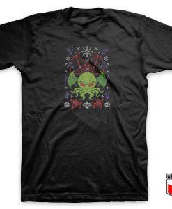 Cthulhu - Merry Cthulhu T Shirt
