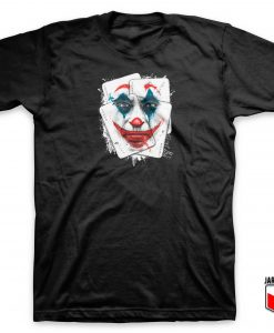 DC Comic - Smile Joker Card T Shirt