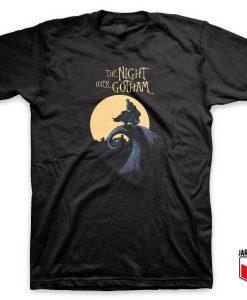 DC Comic - The Night Over Gotham T Shirt