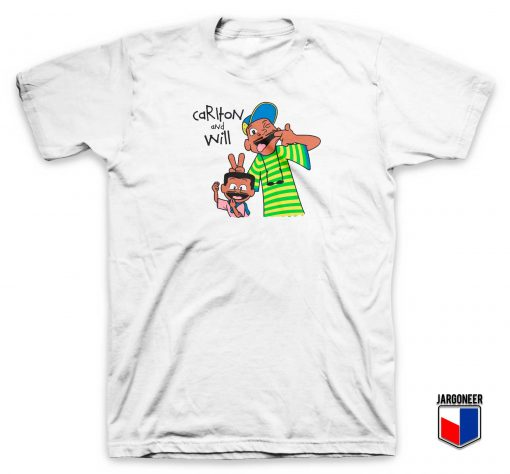 Fresh Prince Bel Air Carlton and Will T Shirt
