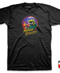 Marvin Attacks T Shirt