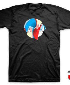 Mega Man - Mega Yin Yang T Shirt