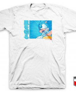 Sonic The Hedgehog - Sonic Go Racer T Shirt