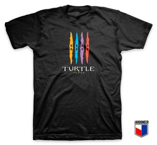 TMNT Turtle Power Energy Drink T Shirt