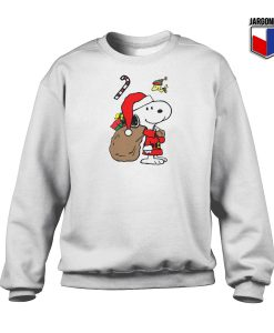 Snoopy Santa Christmas Sweatshirt