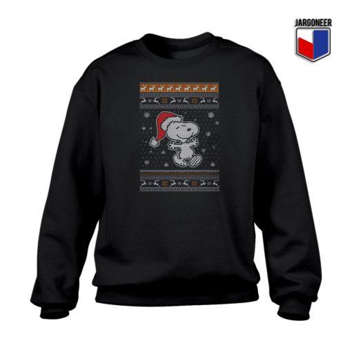 Ugly Hug Snoopy Christmas Sweatshirt