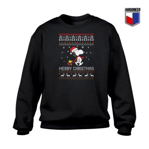 Ugly Snoopy Merry Christmas Sweatshirt