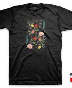 Botanical Dachshund T Shirt