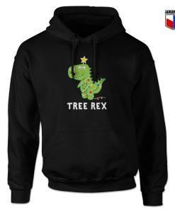 Christmas Tree Rex Parody Hoodie