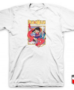 Dragon Mulan Ball Z T Shirt