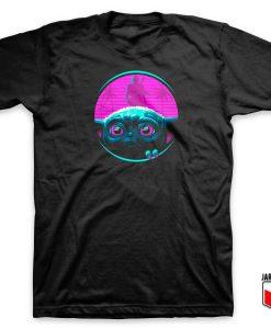 Retro Baby Yoda T Shirt
