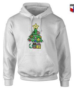 Super Mario Christmas Tree Hoodie