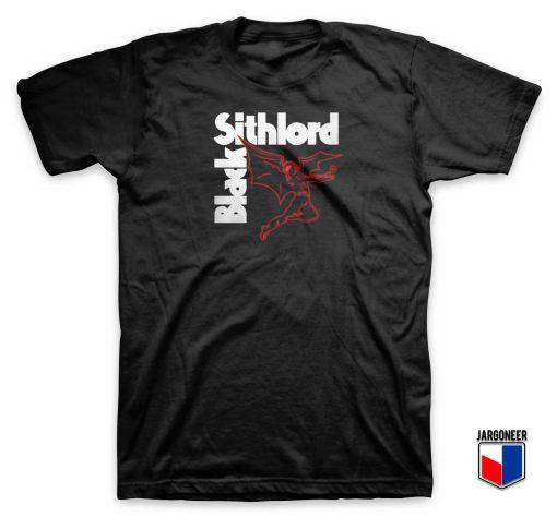 Black Sithlord Vader T Shirt