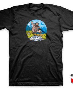 Harry And Rubeus Hagrid T Shirt