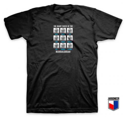 Mandolarian Expressions T Shirt
