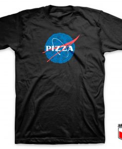 Nasa Pizza Parody T Shirt