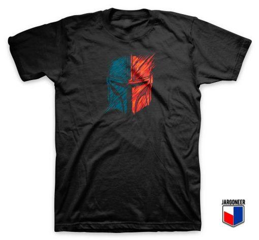 Mando Warrior Helmet T Shirt