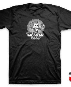 Sonic Gotta Go Fast T Shirt