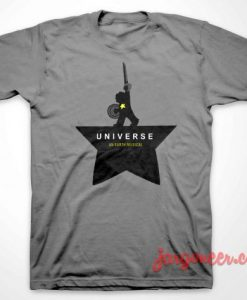 Universe An Earth Musical T Shirt Grey