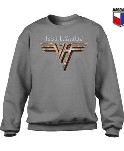 Van Halen 1980 Invasion Crewneck Sweatshirt