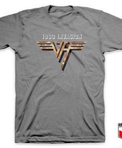 Van Halen 1980 Invasion T Shirt