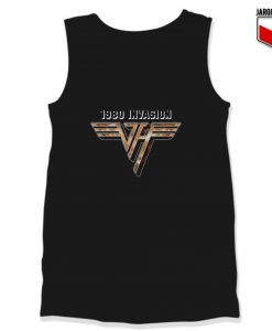 Van Halen 1980 Invasion Unisex Adult Tank Top