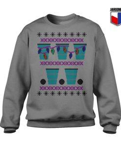 Beer Pong Christmas Sweatshirt