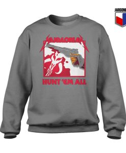 Mandalorian Hunt 'Em All Sweatshirt