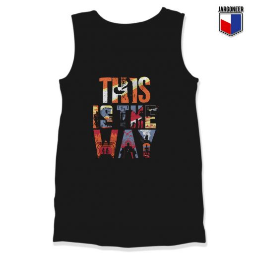 This Is The Way Mandalorian Tank Top