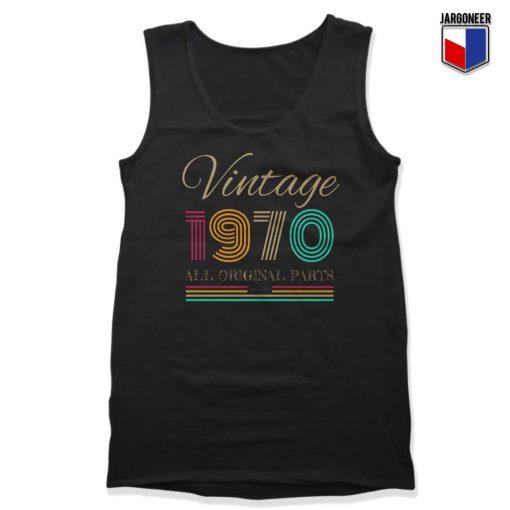 Vintage 1970 Unisex Adult Tank Top