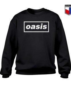 Logo Music Band Oasis Sweatshirt