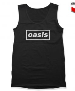 Logo Music Band Oasis Tank Top