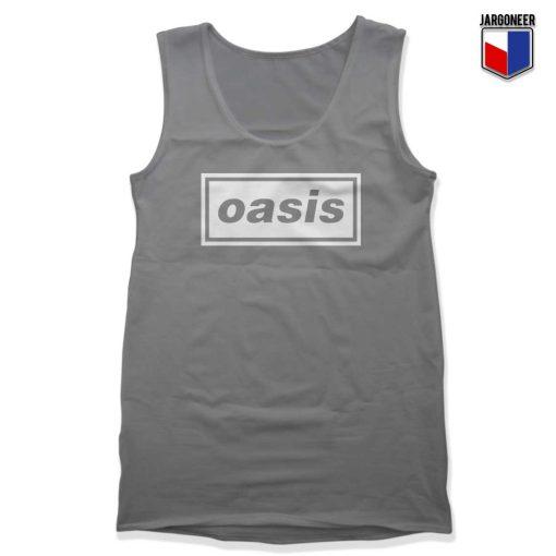 Logo Music Band Oasis Tank Top