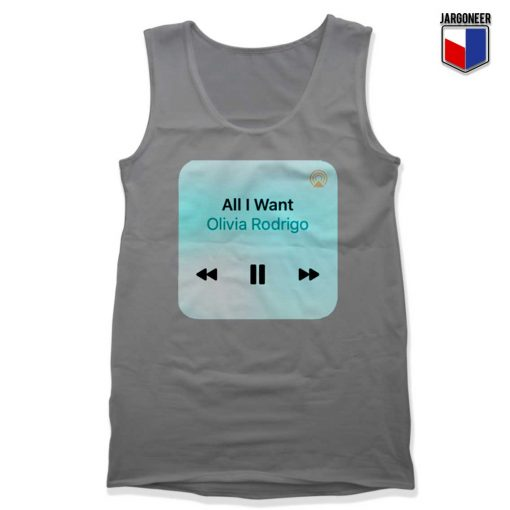 All I Want By Olivia Rodrigo Tank Top