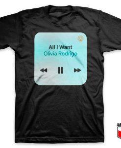 All I Want By Olivia Rodrigo T Shirt