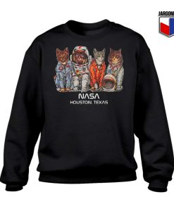 Cat Space Nasa Sweatshirt