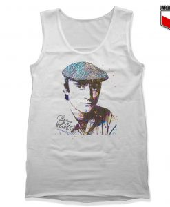Phil Collins Art Sketch Tank Top
