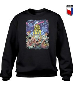 Free Comic Book Day Sweatshirt