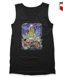 Free Comic Book Day Tank Top 247x300 - Shop Unique Graphic Cool Shirt Designs