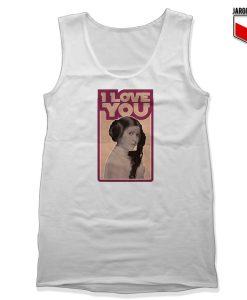 Leia Retro I Love You Tank Top