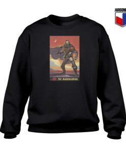 The Mandalorian Poster Sweatshirt 247x300 - Shop Unique Graphic Cool Shirt Designs
