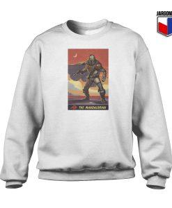The Mandalorian Poster White Sweatshirt 247x300 - Shop Unique Graphic Cool Shirt Designs