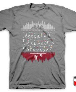 Alphabet Lights T Shirt