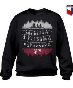 Alphabet Lights Sweatshirt