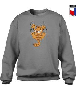 Garfield Scratching Sweatshirt