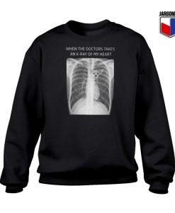 Chihuahua In My Heart X-Ray Sweatshirt