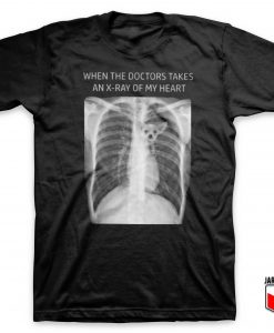 Chihuahua In My Heart X-Ray T Shirt