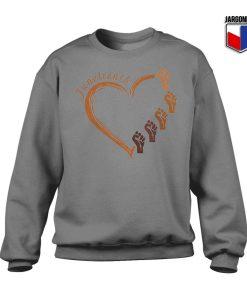 Juneteenth Heart Gift Sweatshirt