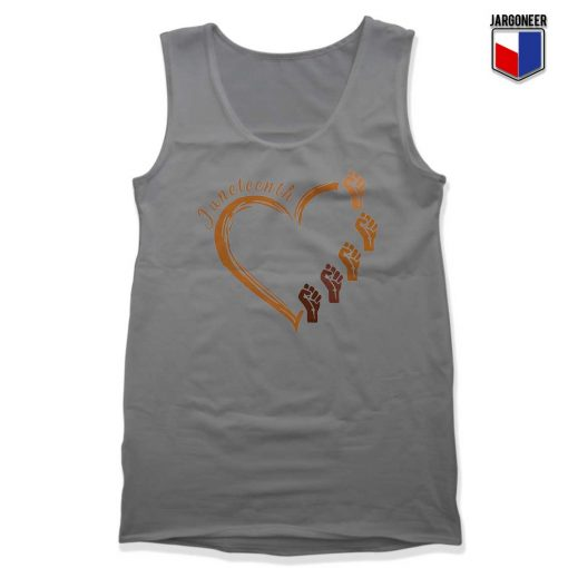 Juneteenth Heart Gift Tank Top